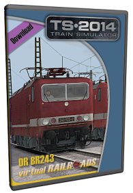 VIRTUAL RAILROADS - DR BR243 YB70 STÄDTEEXPRESS