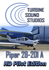 TURBINE SOUND STUDIOS - PIPER 28-201 ARROW PILOT EDITION FS2004