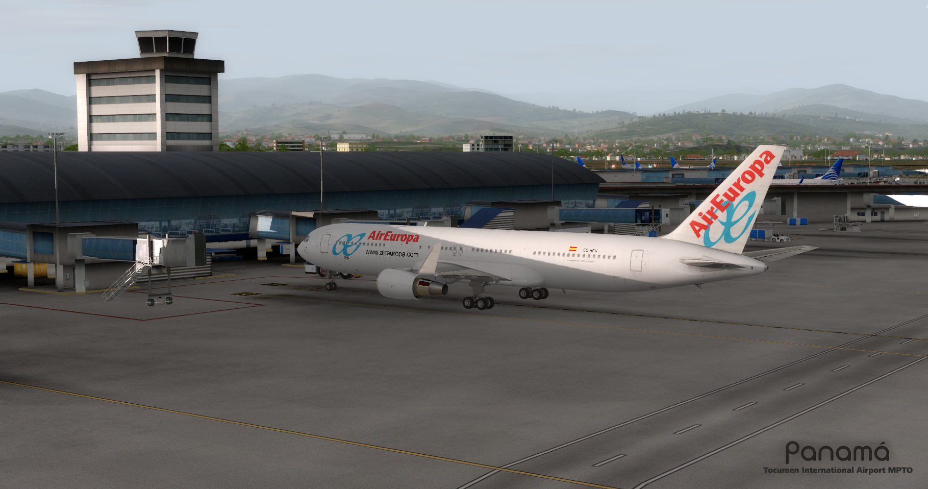 FSIMSTUDIOS - TOCUMEN INTERNATIONAL AIRPORT MPTO PANAMA CITY FSX P3D