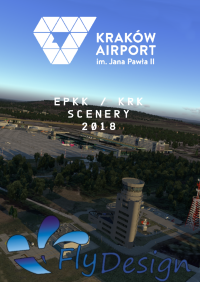 FLYDESIGN - EPKK JOHN PAUL II INTERNATIONAL AIRPORT KRAKOW X-PLANE 10/11