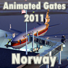 FLYSIMWARE - ANIMATED GATES 2011 NORWAY/DENMARK/FINLAND/SWED