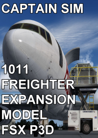 CAPTAIN SIM - 1011 FREIGHTER EXPANSION MODEL FSX P3D2/3
