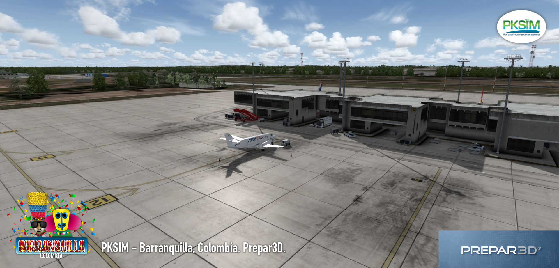 PKSIM - ERNESTO CORTISSOZ INTERNATIONAL AIRPORT SKBQ P3D
