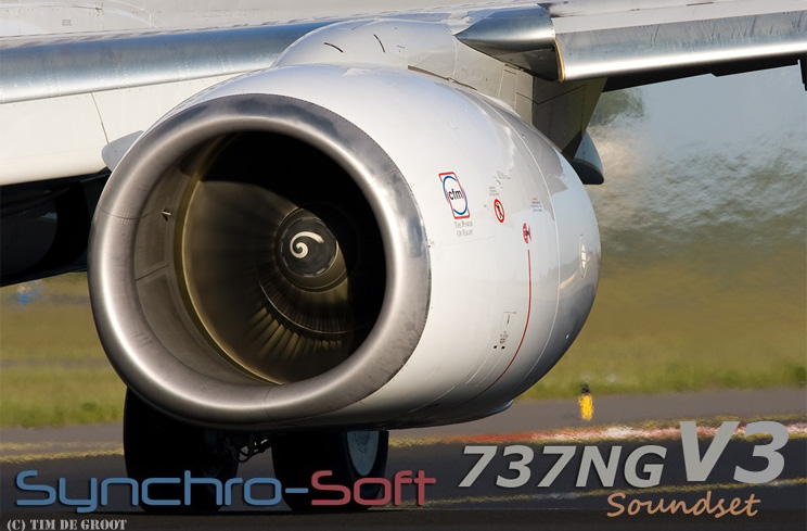 SYNCHRO-SOFT - 737NG V3 FINAL SOUNDSET FSX
