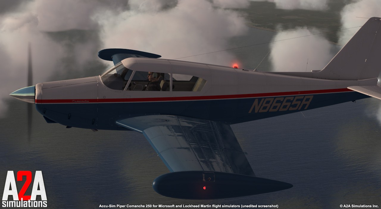 A2A SIMULATIONS - COMANCHE 250 FSX P3D ACADEMIC BUNDLE