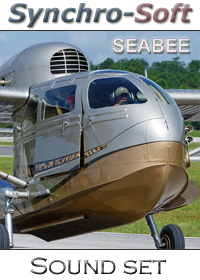 SYNCHRO-SOFT - REPUBLIC RC-3 SEABEE SOUNDSET FSX