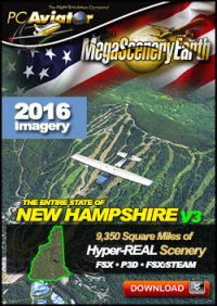 MEGASCENERYEARTH - PC AVIATOR - MEGASCENERY EARTH V3 - NEW HAMPSHIRE FSX P3D