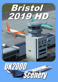 UK2000 SCENERY - BRISTOL 2019HD FSX P3D X-PLANE 11