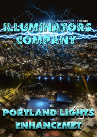 ILLUMINATORS - PORTLAND (USA) NIGHT LIGHT ENHANCED MSFS