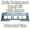 SIMWORLD - MAIN INSTRUMENT PANEL KIT FULL WITH FRAME - ADVANCED