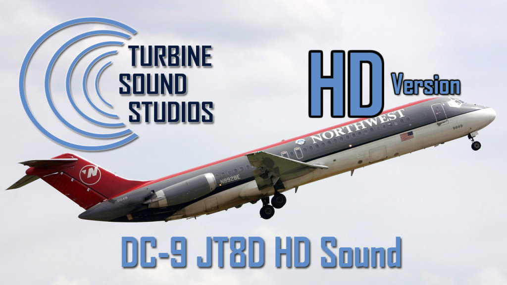 TURBINE SOUND STUDIOS - DC-9 JT8D HD SOUNDPACK FS2004