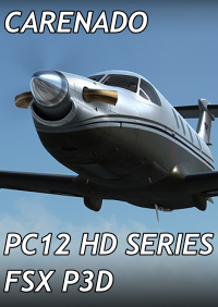 CARENADO - PC12 HD SERIES FSX P3D