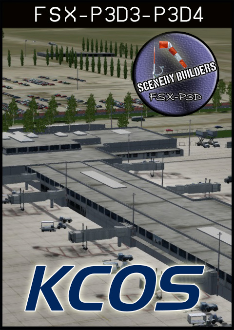 FSXCENERY -   KCOS CITY OF COLORADO SPRINGS MUNICIPAL AIRPORT FSX P3D
