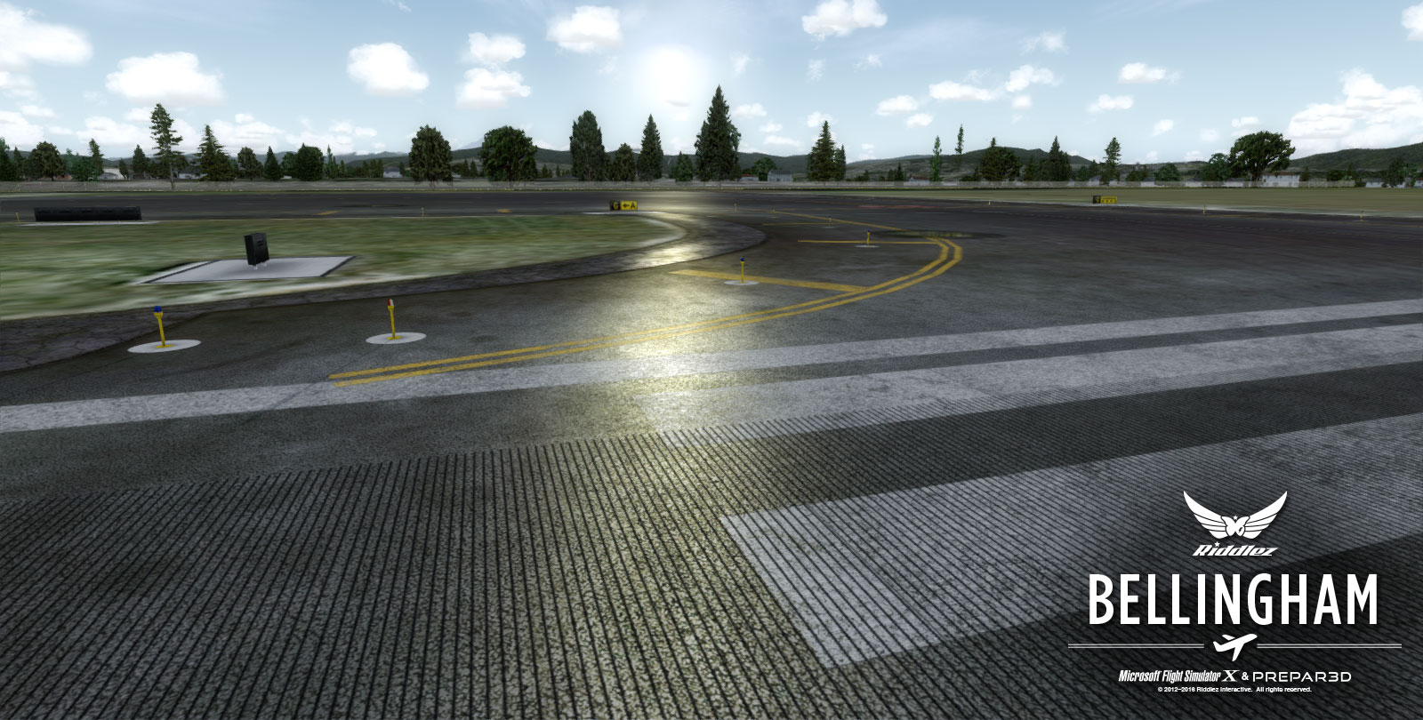 RIDDLEZ - BELLINGHAM INTERNATIONAL KBLI FSX P3D