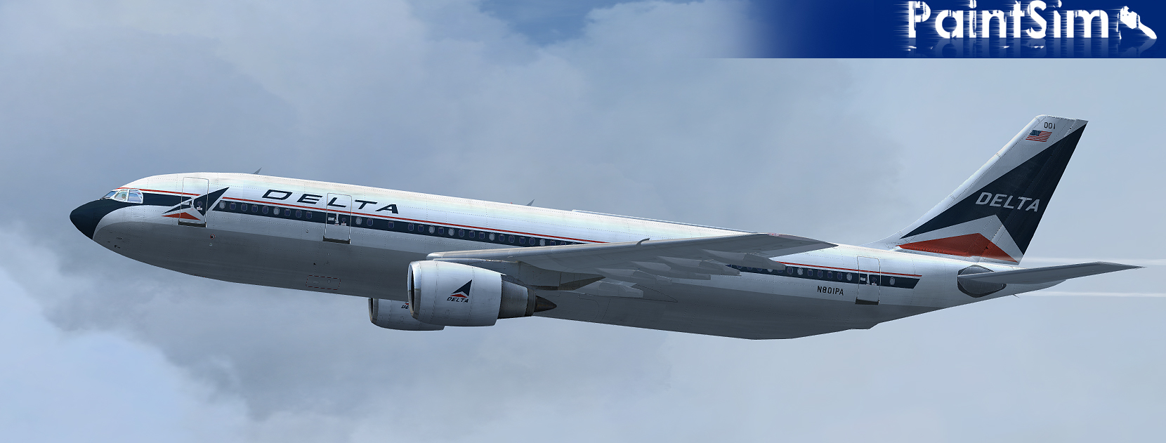 PAINTSIM - HD TEXTURE PACK 17 FOR SIMCHECK AIRBUS A300B4-200 FSX