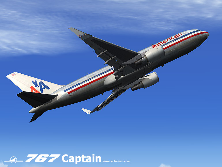 CAPTAIN SIM - 767-200 EXPANSION MODEL - FSX
