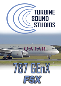 TURBINE SOUND STUDIOS - BOEING 787 GENX HD SOUNDPACK FSX