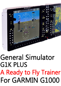 GENERALSIMULATOR - GARMIN G1000 TRAINER G1K PLUS