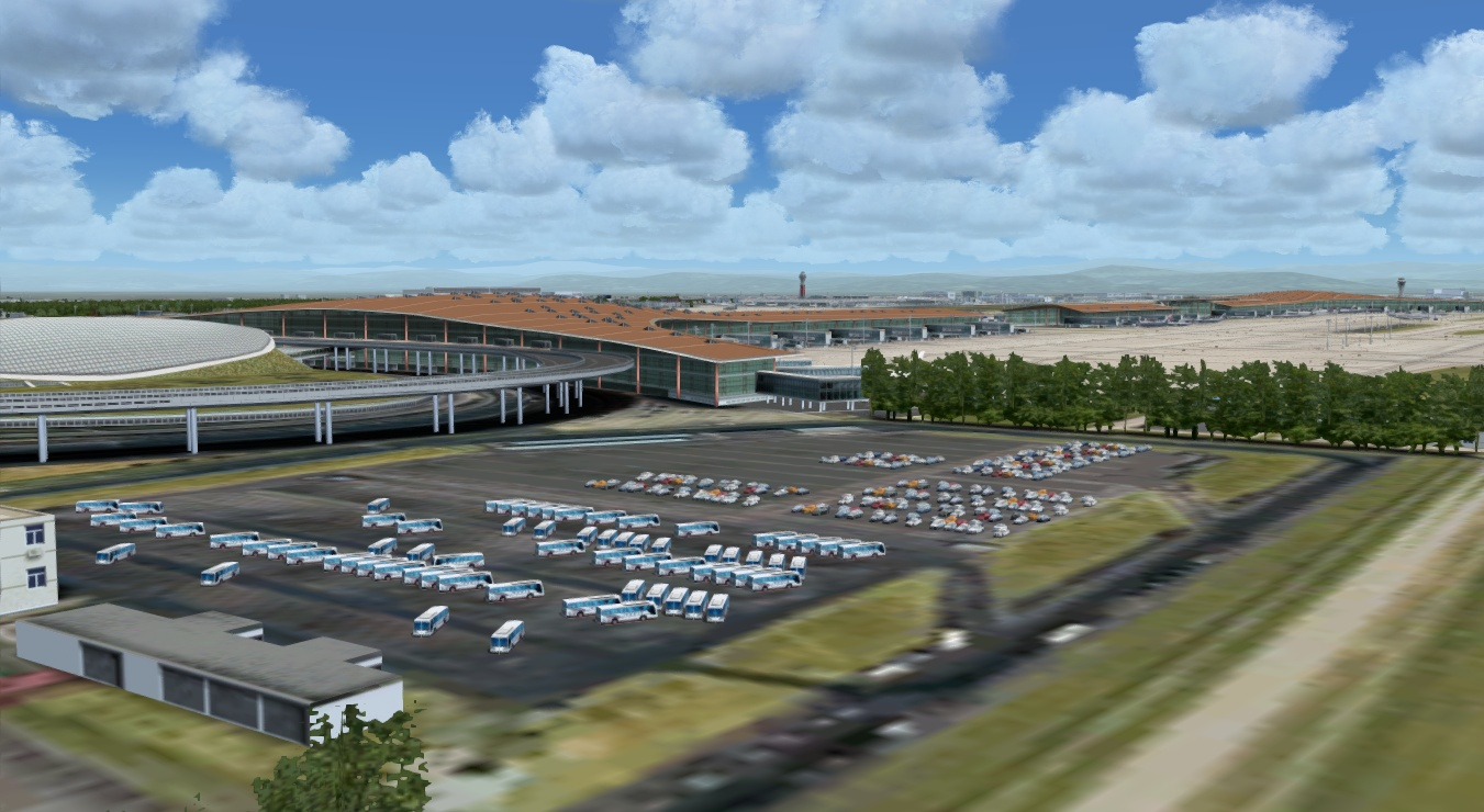A_A SCENERIES - BEIJING INTERNATIONAL AIRPORT FS2004