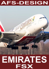 AFS-DESIGN - AIRBUS COLLECTION - EMIRATES V2 FSX