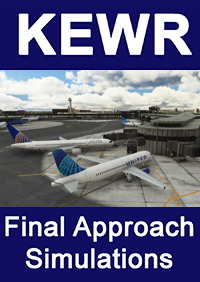 FINAL APPROACH SIMULATIONS - KEWR NEWARK LIBERTY INTERNATIONAL AIRPORT - MSFS