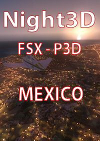 TABURET - FSX P3D NIGHT 3D MEXICO
