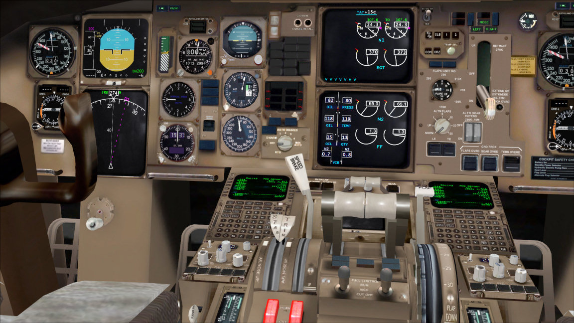 ZINERTEK - HD VIRTUAL COCKPIT FOR LEVEL-D 767 FSX P3D