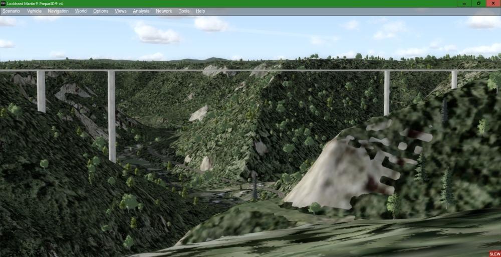 TOPOSIM - ULTRAMESH WEST VIRGINIA FSX P3D FSW