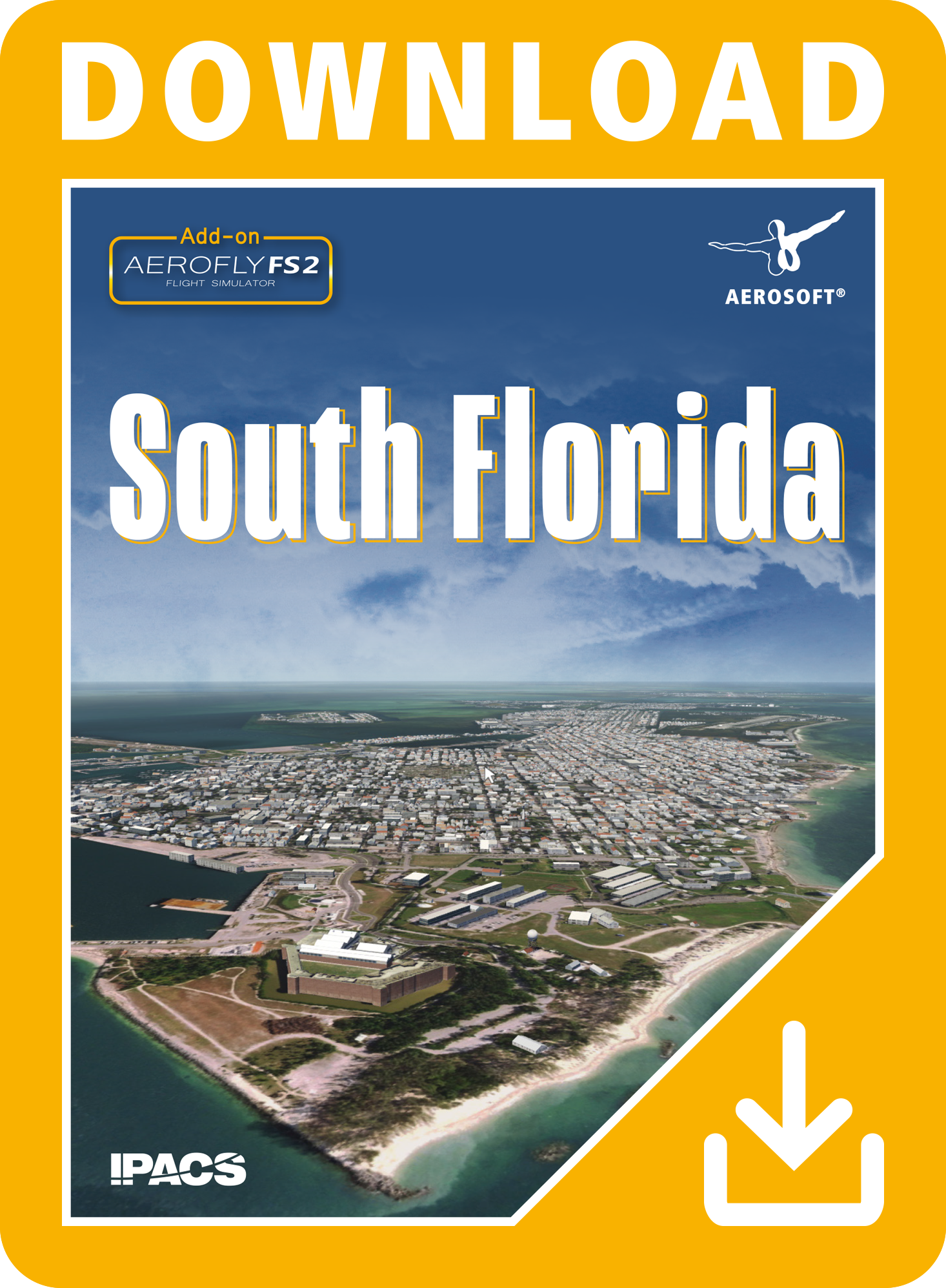 USA SOUTH FLORIDA FOR AEROFLY FS 2