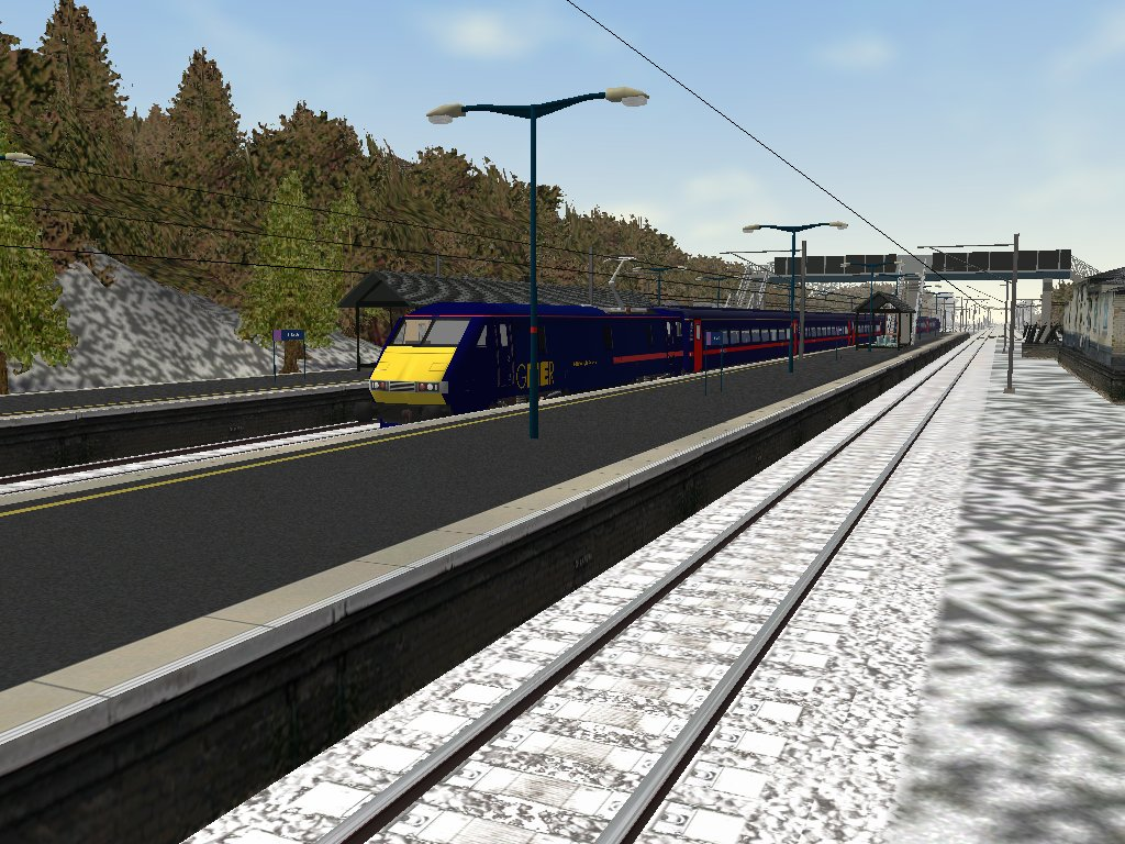 FIRST CLASS SIMULATIONS - EAST COAST EXPRESS PART 1