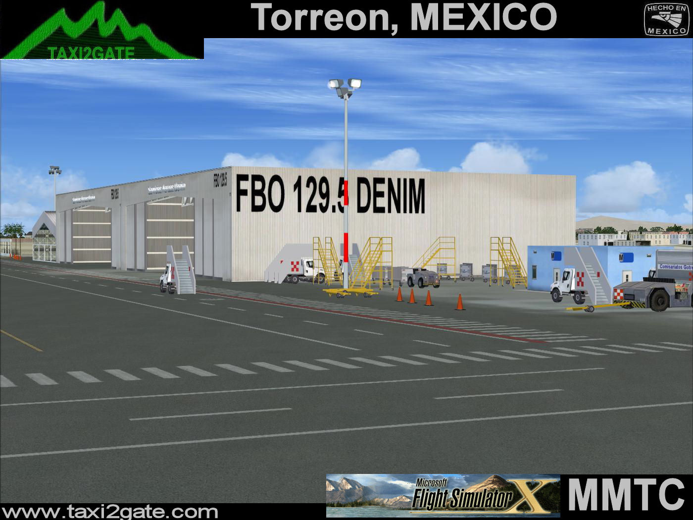 TAXI2GATE - TORREON MMTC FSX
