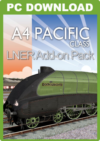 JUSTTRAINS - A4 PACIFIC CLASS LNER ADDON PACK