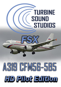 TURBINE SOUND STUDIOS - AIRBUS A319 HD CFM56-5B5 PILOT EDITION SOUNDPACK FSX