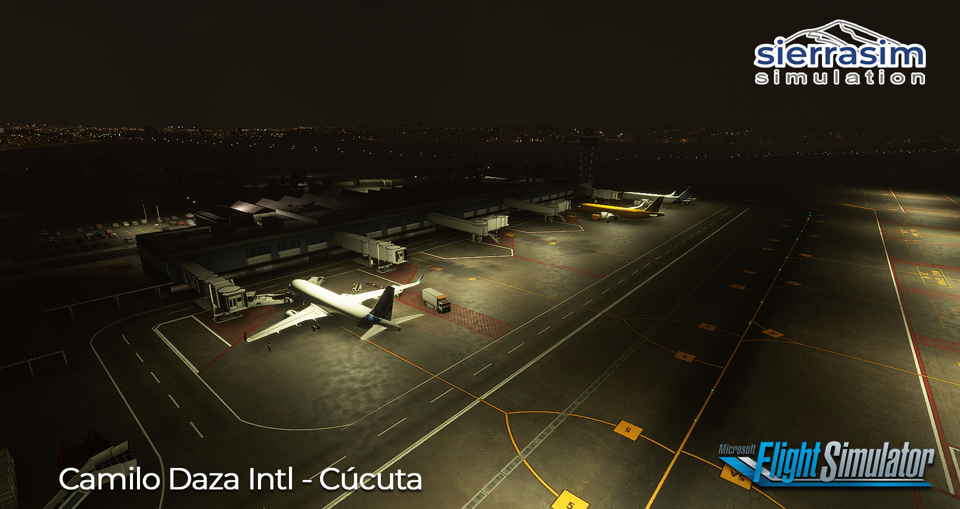 SIERRASIM SIMULATION - SKCC CAMILO DAZA INTERNATIONAL AIRPORT MSFS