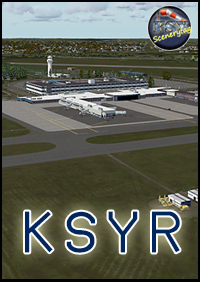 FSXCENERY - KSYR SYRACUSE HANCOCK INTERNATIONAL AIRPORT FSX P3D