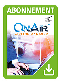 AEROSOFT - ONAIR: AIRLINE MANAGER - 3 MONTHS ACCESS
