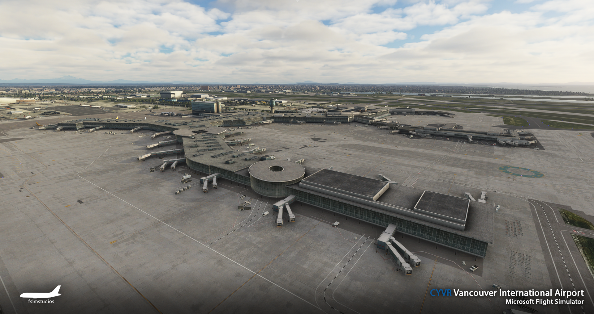 FSIMSTUDIOS - VANCOUVER INTERNATIONAL AIRPORT CYVR MSFS