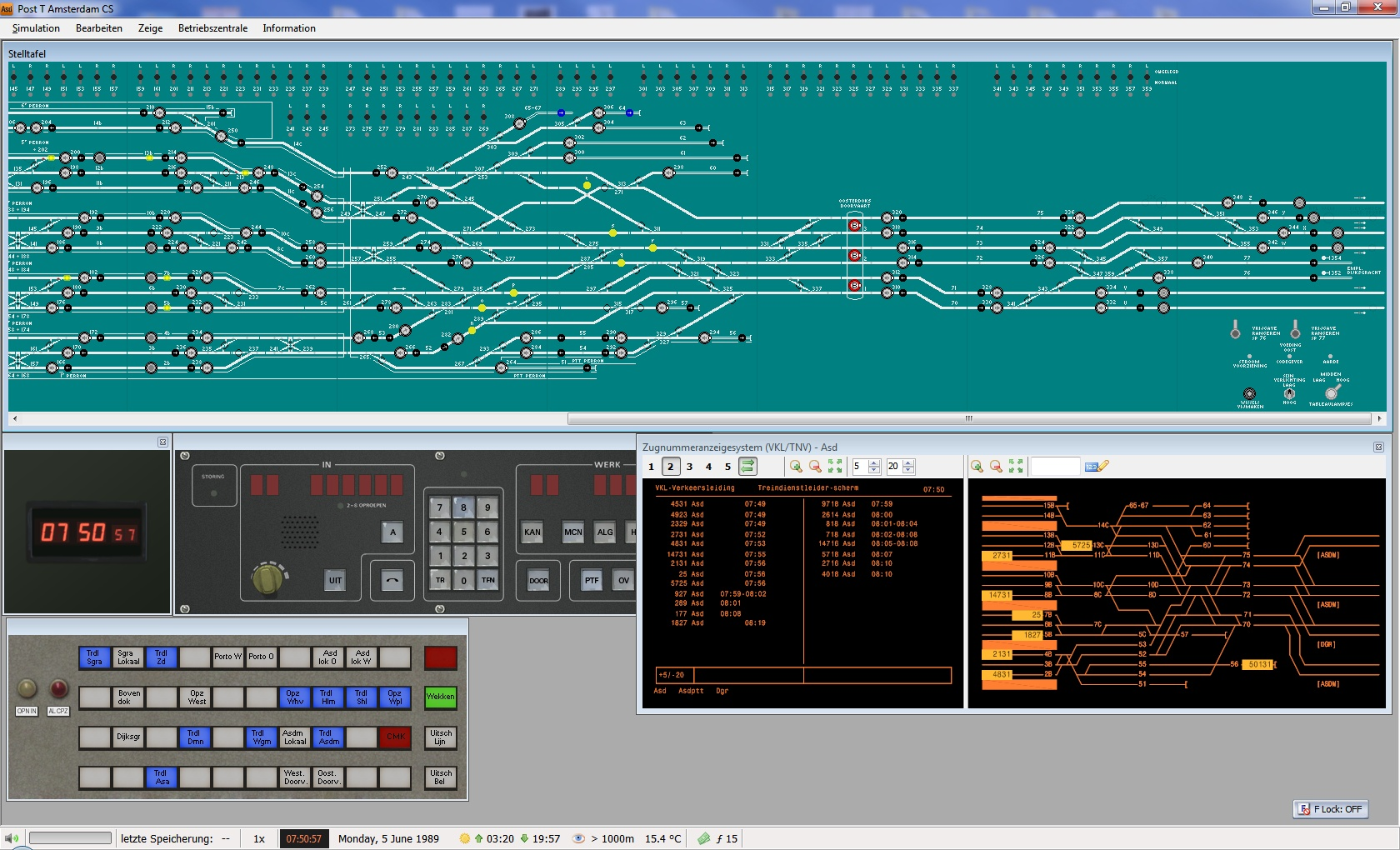 SIGNALSOFT - TOWER SIGNAL BOX AMSTERDAM CENTRAL STATION