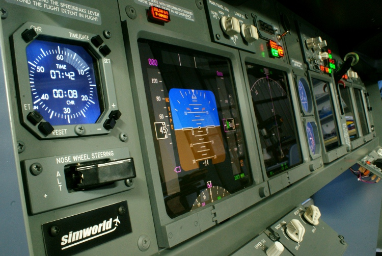 SIMWORLD - BOEING 737NG MAIN INSTRUMENT PANEL PLUG & PLAY PROFESSIONAL