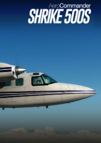 CARENADO - 500S SHRIKE AERO COMMANDER HD SERIES FSX P3D