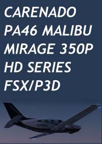CARENADO - PA46 MALIBU MIRAGE 350P HD SERIES FSX P3D