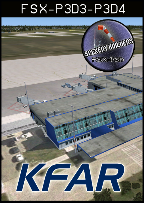 FSXCENERY -   KFAR HECTOR INTERNATIONAL AIRPORT FARGO FSX P3D
