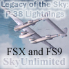 SU - LEGACY OF THE SKY: P-38 LIGHTNINGS OF WWII VOL.1
