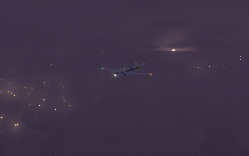 TABURET - FSX P3D NIGHT 3D POLAND