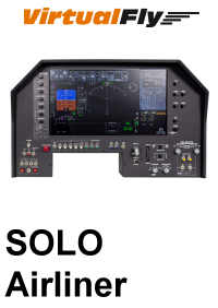 VIRTUALFLY - SOLO AIRLINER FLIGHT PANEL