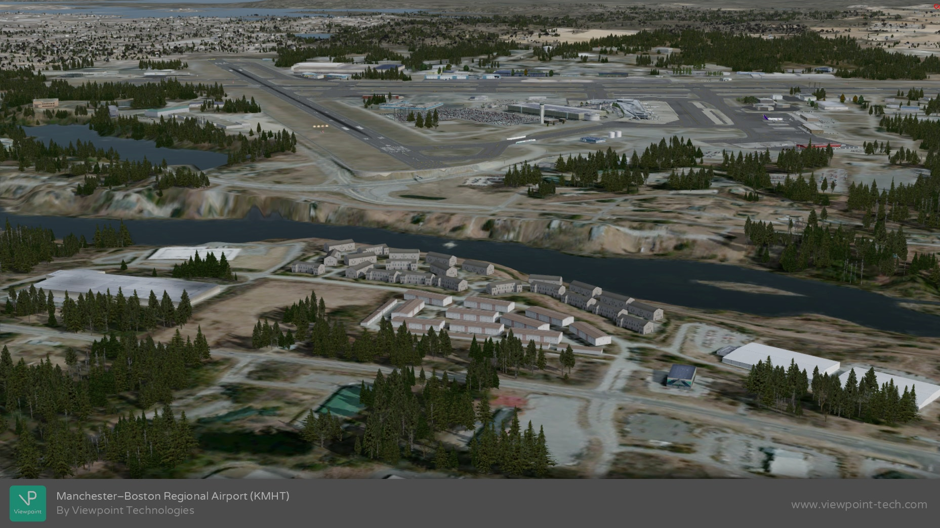 VIEWPOINT TECHNOLOGIES - MANCHESTER-BOSTON REGIONAL AIRPORT KMHT FSX P3D