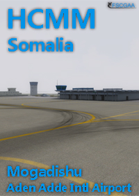 SOMALIA-MOGADISHU ADEN ADDE INTERNATIONAL AIRPORT HCMM P3D4-5
