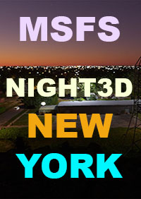 TABURET - NIGHT 3D NEW YORK STATE MSFS