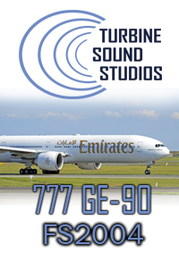 TURBINE SOUND STUDIOS - BOEING 777 GE-90 HD SOUNDPACK FS2004