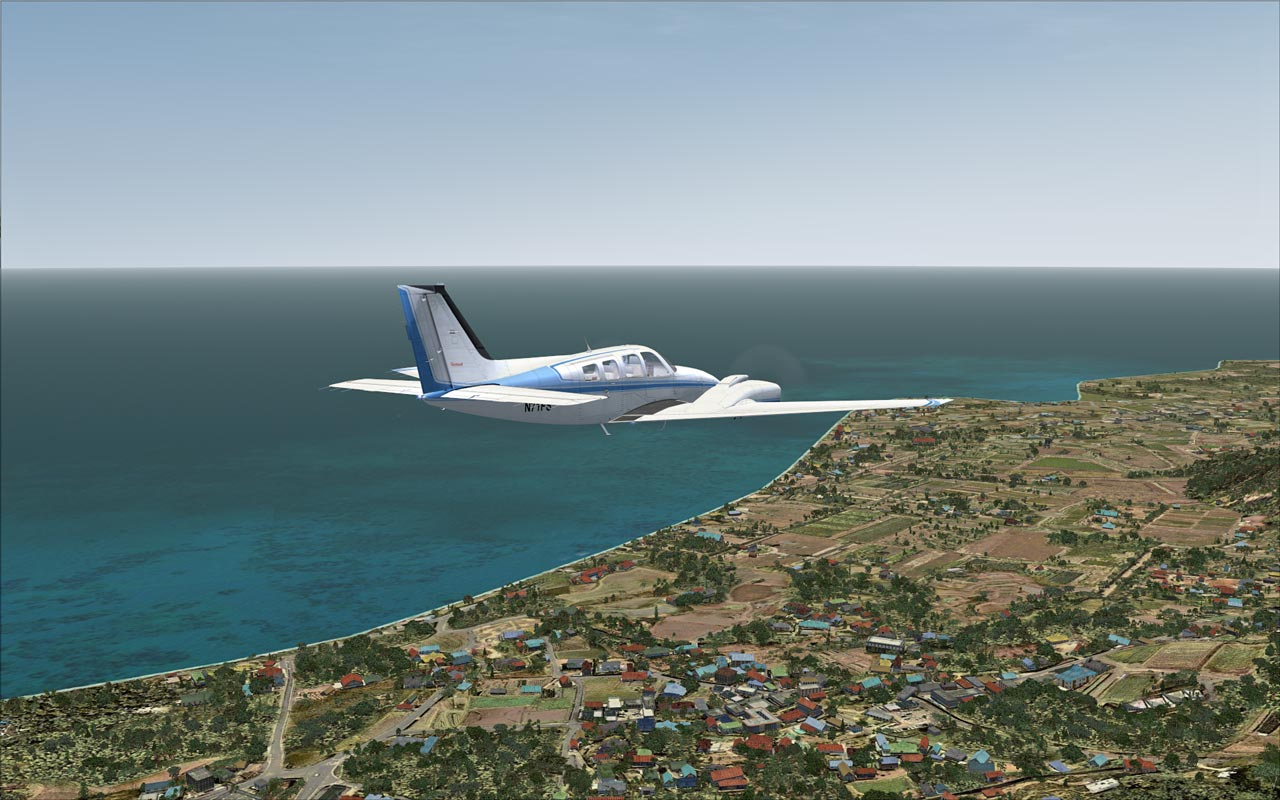 FLIGHT 1 - GEX - ATLANTIC AND PACIFIC TROPICS FSX FSXSE